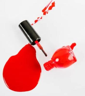 cómo quitar pintauñas de la ropa