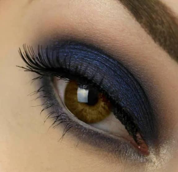 Como maquillar los ojos marrones