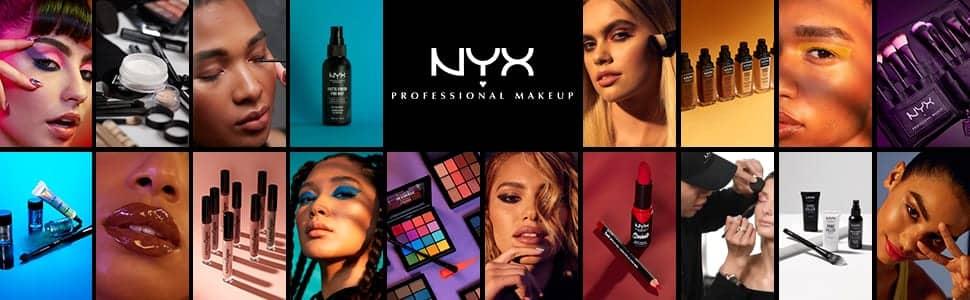 1. NYX. La mejor marca de cosméticos y productos cruelty free