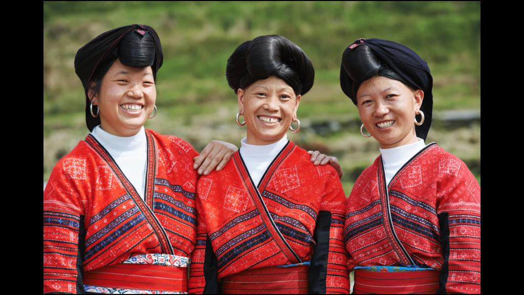 mujeres yao