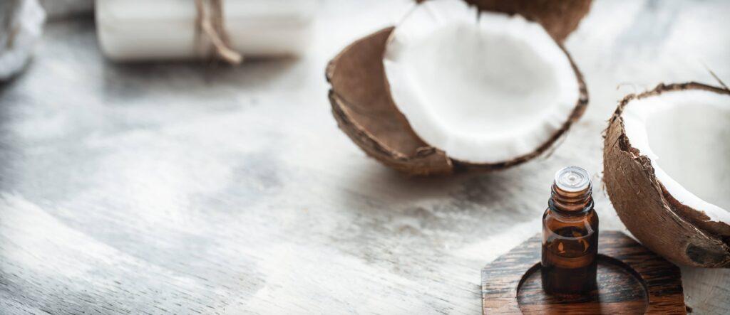 aceite de coco para las pestañas