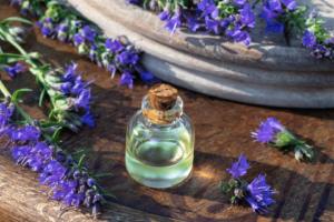 Cómo usar el aceite esencial de hisopo