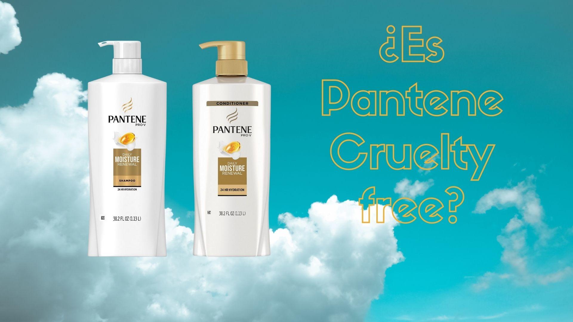 pantene cruelty free