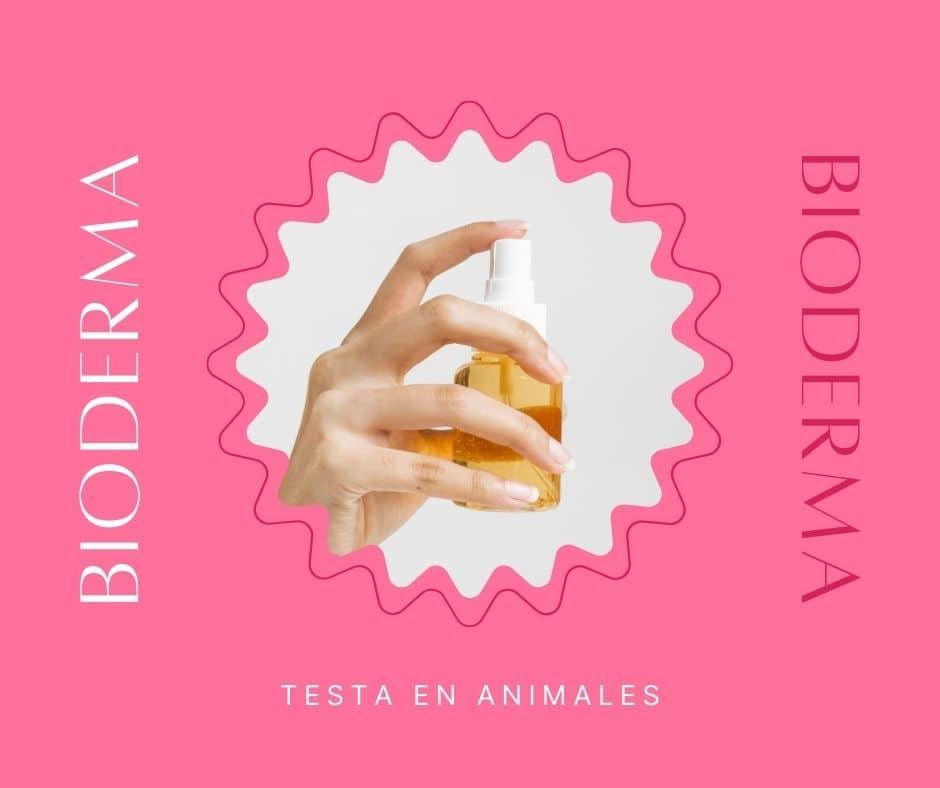 bioderma testa en animales